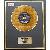 Limited Edition mini gold disc Display PREFAB SPROUT/MINI GOLD DISC DISPLAY/LIMITED EDITION/COA/ A LIFE OF SURPRISES - THE BEST OF