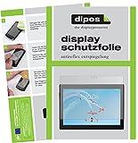 dipos I 2X Schutzfolie matt passend für Lenovo Tab4 10 Plus TB-X704F Folie Bildschirmschutzfolie