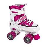SFR Miami Quads verstellbare Rollschuhe Kinder pink Mädchen pink, 30.5-34