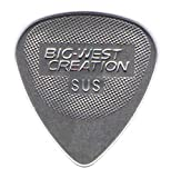 Big-West Creation BWC Pick TD2-SUS (Tear Drop) Stainless 2.0 mm