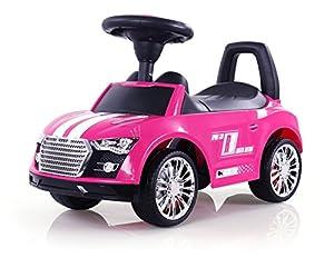 MILLY MALLY 2466-Antideslizante Auto Racer, Modelo de Coches, Color Rosa