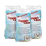 CARLAS TeppichClean 3X 500gr Reinigungspulver, kraftvoller und wirkungsvoller Teppichboden-Reiniger