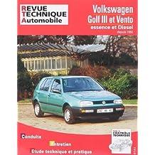 Volkswagen Golf III et Vento E 4 cylindres