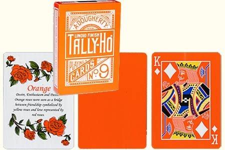 tally-ho-reverse-fan-back-orange-limited-ed-by-aloy-studios-uspcc