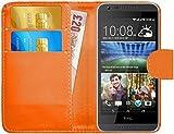 HTC Desire 620 / 620G Hülle Leder Klapphülle mit