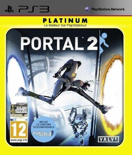 Portal 2 Platinium Ps3 [Edizione : Francia] (Gioco in Italiano)