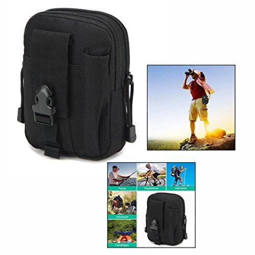 OFKPO Outdoor Sport Taktische Tasche,Multifunktional Camping Wandern Hüfttaschen/Gürteltasche