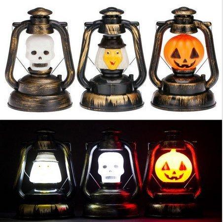 Halloween-Kürbis-Schädel-Hexe-bewegliche Musik-Laterne-Nachtlicht-Lampen-Halloween-Stützen-Dekorations-Versorgungsmaterial-HauptPartei-Dekoration ()