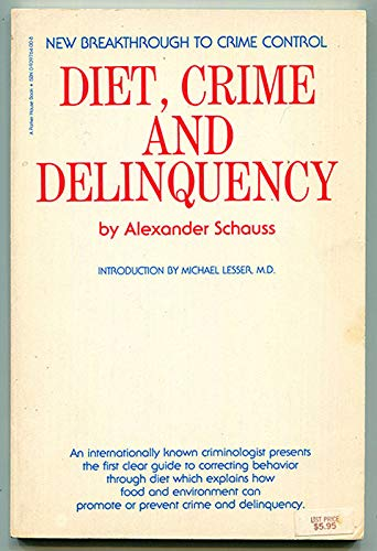 DOWNLOAD Diet Crime And Delinquency Full Books By Alexander
