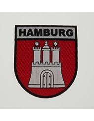 Yantec Wappen Patch Hamburg Aufnäher