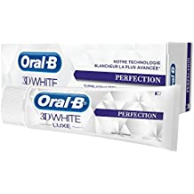 Oral-B - Dentifrice 3D White Luxe perfection - 75ml - Lot de 2