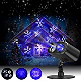 Best Landscape Lights - Christmas Light Projector Led Projector Lights Waterproof Landscape Review