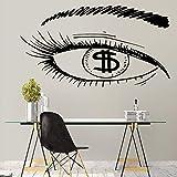 xinyouzhihi Hot Eye Geld tapete Dekoration Wand Ticker für Baby Zimmer Kunst dekor 43 cm x 78 cm