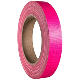 Ah accessories gaffer duct tape, 19 mm x 25 m neon pink