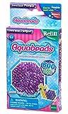 Aquabeads 32718 Glitzerperlen Bastelperlen nachfüllen lila