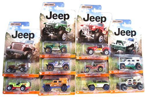 matchbox-2015-jeep-10-vehicle-complete-set-by-matchbox