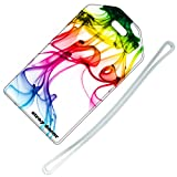 Stray Decor (Rainbow Ink) Luggage Tag / Name & Address Travel ID Label