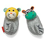 Best Infantino In Babies - Infantino Foot Rattles, Zebra and Tiger Review