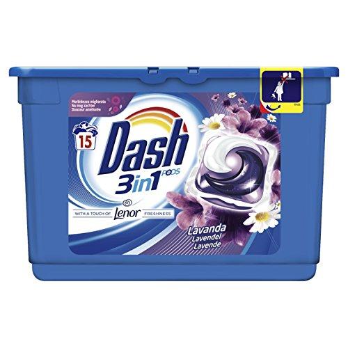 Dash Pods Waschmittel mit Duft Lavendel, Hohe Reinigungskraft (Hohe Waschmittel)