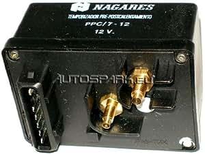 Nagares PPC/7-12 Appareil de commande, temps de préchauffage