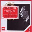 Mahler :  Symphonies n° 2, 4, 7, 9 - Le chant de la terre,  Lieder
