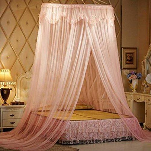 * XMM®-Dome Bett Netting Baldachin Vorhang Moskitonetz Twin / Full / Queen (1.10m) (Queen-baldachin Netting)