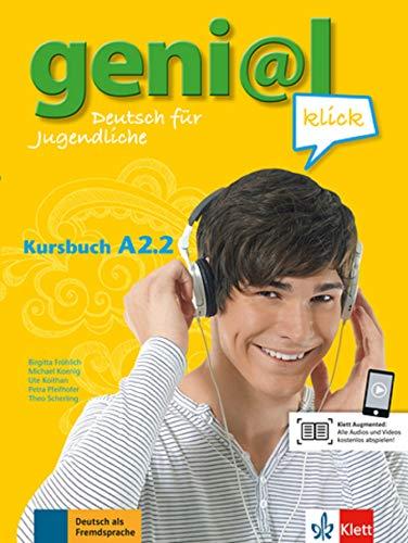 geni@l klick a2.2, libro del alumno con audio online por Vv.Aa.