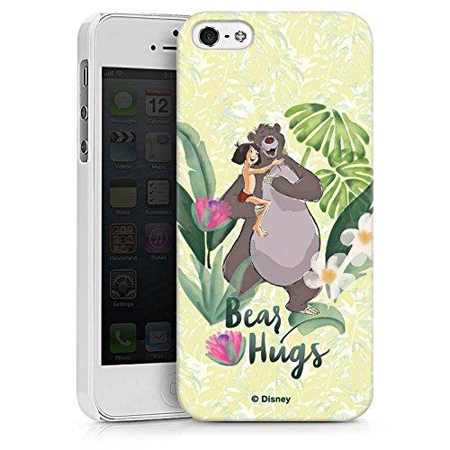 Apple iPhone X Silikon Hülle Case Schutzhülle Dschungelbuch Mowgli & Baloo Disney Hard Case weiß