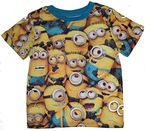 Camiseta de manga corta para niño de Los Minions