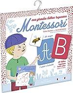 Mes grandes lettres Montessori de Céline SANTINI