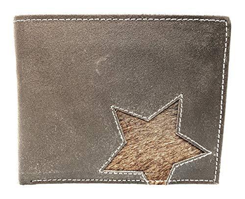Bull and Hunt Amarillo Star Marrón Cartera piel único