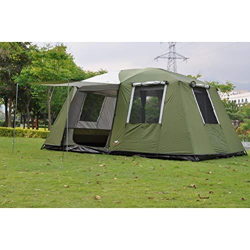 ZHJLOP Zelt Hohe Qualität Outdoor Tragbare Camper Trailer selbstfahrende wasserdichte Markise Strand Baldachin Aluminium Zelt Große Pavillon Sun Shelter