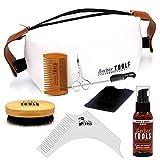 ✮ BARBER TOOLS ✮ Kit/Set / Estuche de arreglo y cuidado de la barba y afeitarse | Cosmético Made in French