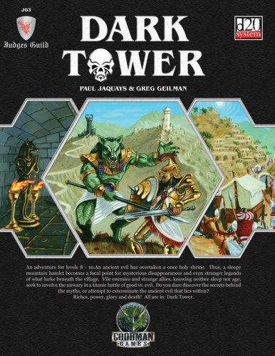 Price comparison product image Judges Guild: Dark Tower