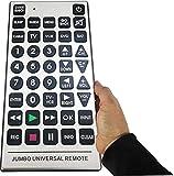 Ardisle Extra Groß Großer KnopfJumbo Universal-Fernbedienung für TV XL XXL