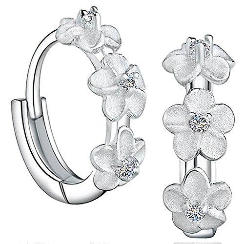 viyino-ladies-jewellers-925-sterling-silver-cubic-zirconia-beautiful-flower-cluster-hoop-stud-earrin