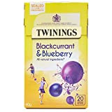 Twinings Blackcurrant & Blueberry Teabags 20s 40g