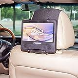 TFY Hülle für Auto-Kopfstützen-Halterung für Portable DVD-Player, mit Displayschutzfolie