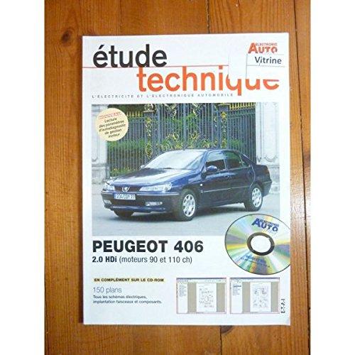 Electronic Auto Volt - 406 2.0 HDi Revue Technique Electronic Auto Volt Peugeot