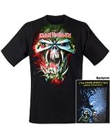Iron Maiden - T-Shirt Final Frontier Face Tour (in XL)