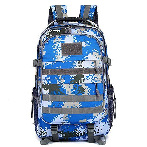 GQDP Outdoor-Camouflage-Rucksack Wasserdichtes Nylontuch Multifunktions-Sportrucksack c 48cm - Rennrad 48cm