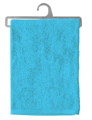 Lovely Casa B35848009 Lola Serviette Coton Turquoise 130 x 70 cm