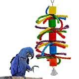 Parrot Toy, Rusee Small or Medium-Sized Parrot...