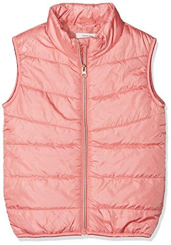 NAME IT Mädchen Weste NMFMYLANE SOLID Vest, Rosa Tea Rose, 116