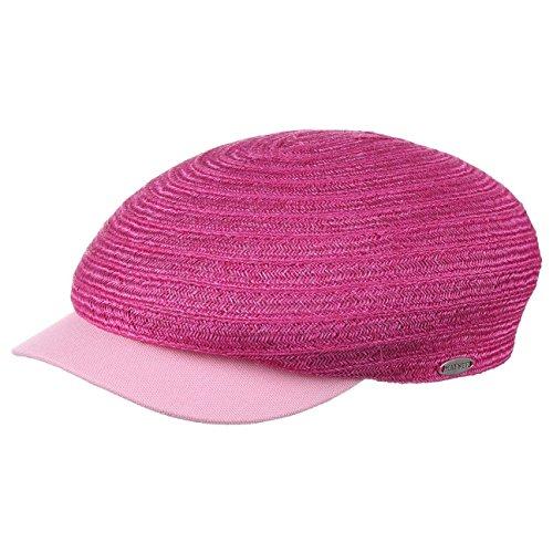 Mayser Mütze Schirmmütze Nikita Hanf Flatcap Hanfcap (M (56-57 cm) - pink)