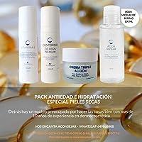 Pack Antiedad e Hidratación Especial Piel Seca | Contiene Serum Vitamina E + Contorno de Ojos Efecto Lifting +.
