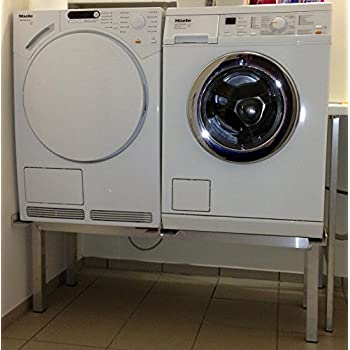 premium waschmaschinen untergestell mara 2 premium mit 2 einzelnen teleskop ausz gen f r. Black Bedroom Furniture Sets. Home Design Ideas