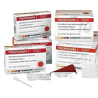 CLEARTEST 6681567 Schnelltest, Troponin I (20-er Pack)