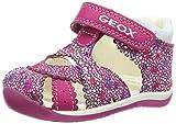 Geox Baby Mädchen B Each Girl A Sandalen, Pink (Dk Fuchsiac8321), 23 EU