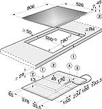 Miele KM 6357 Elektro-Kochfeld / Induktion / Breite: 80.6 cm / Direktanwahl / TwinBooster - 6
